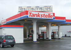 Tankstelle lippstadt real